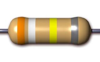 4 bands resistor