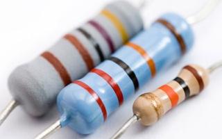 axial-lead resistors