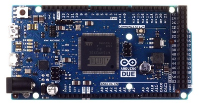 Arduino Due Front View